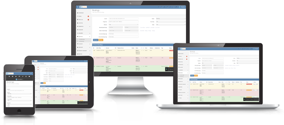booking system all devices