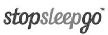 stop sleep go logo mobile