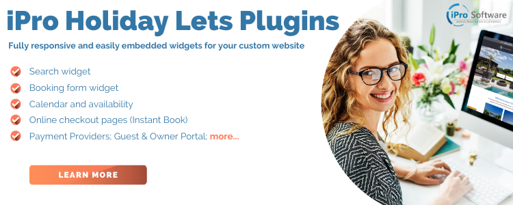 Responsive web plugins for your holiday lets website
